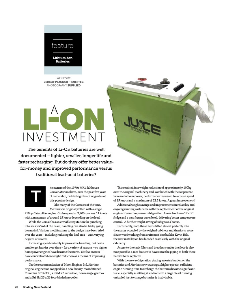 A Lithium Ion Investment